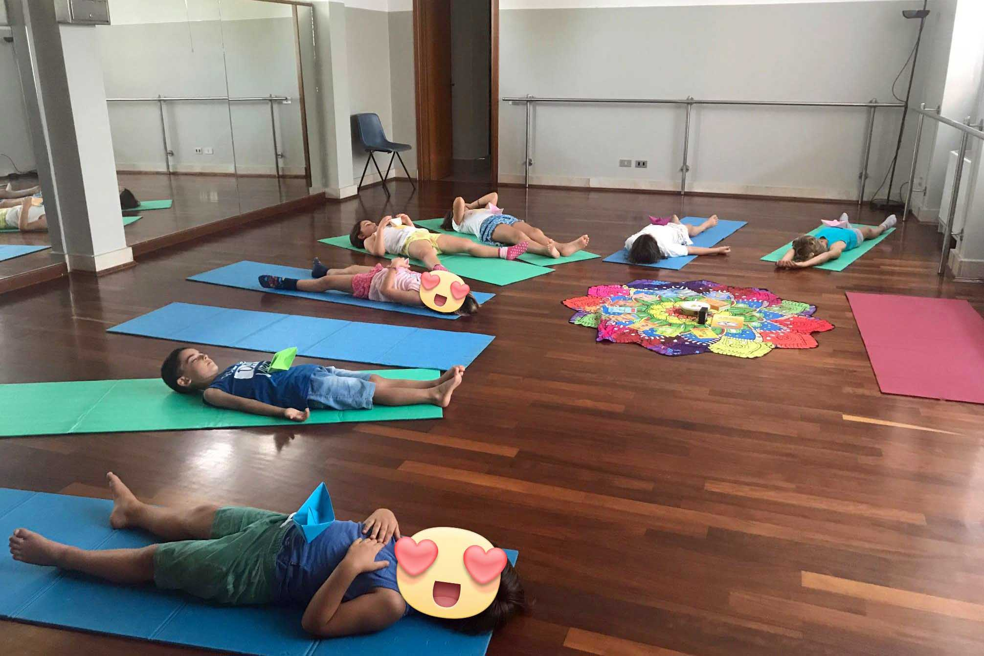Yoga per bambini cinisello
